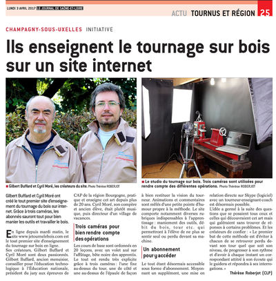 journal saone ert loire avril 2017